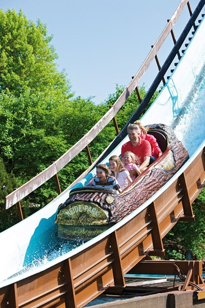 Heide Park Resort Attraktion Wildwasserbahn