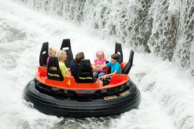 Heide Park Resort Attraktion Mountain Rafting
