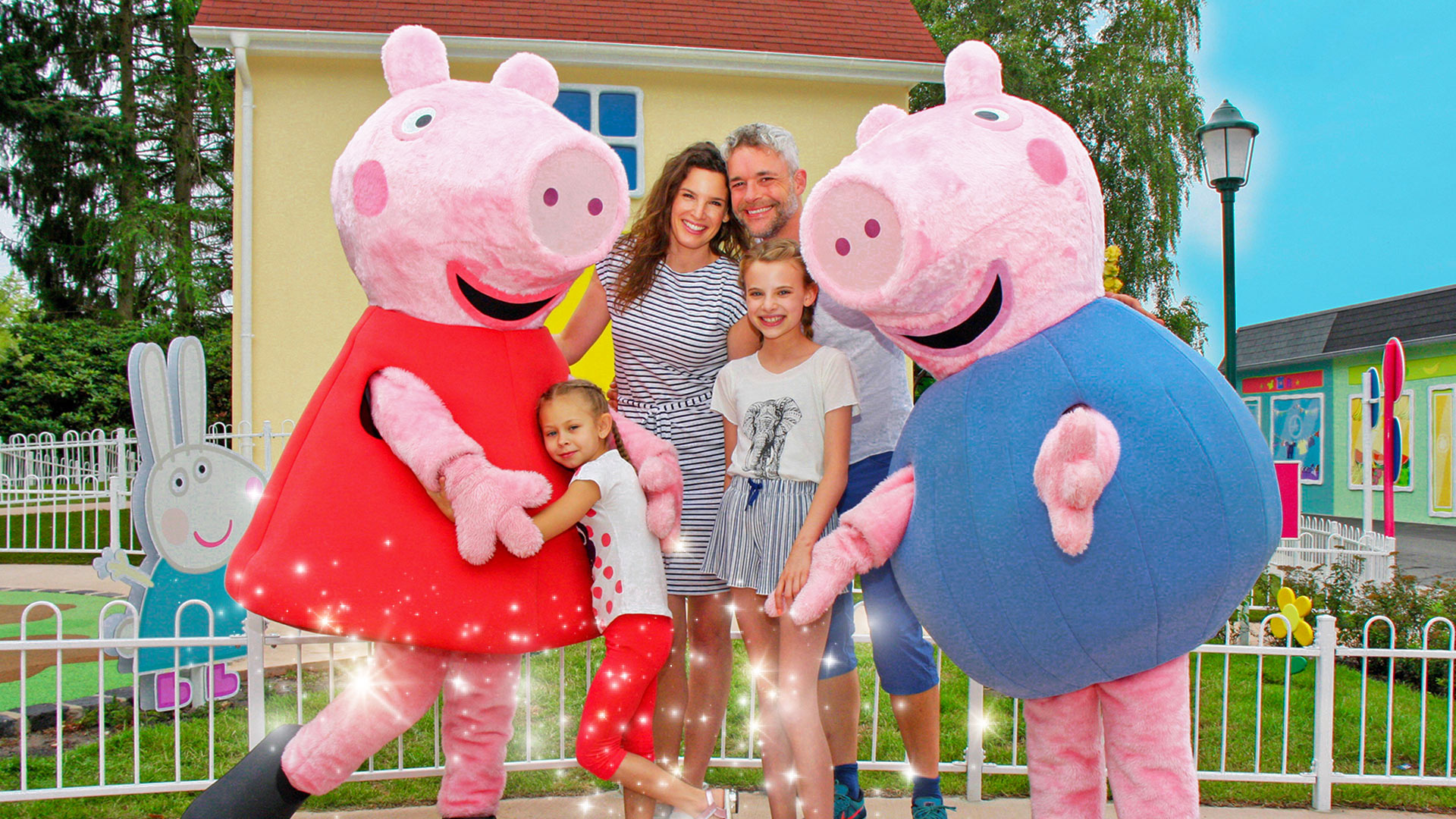 Heideparkresort Fahrgeschaeft Peppa Meet