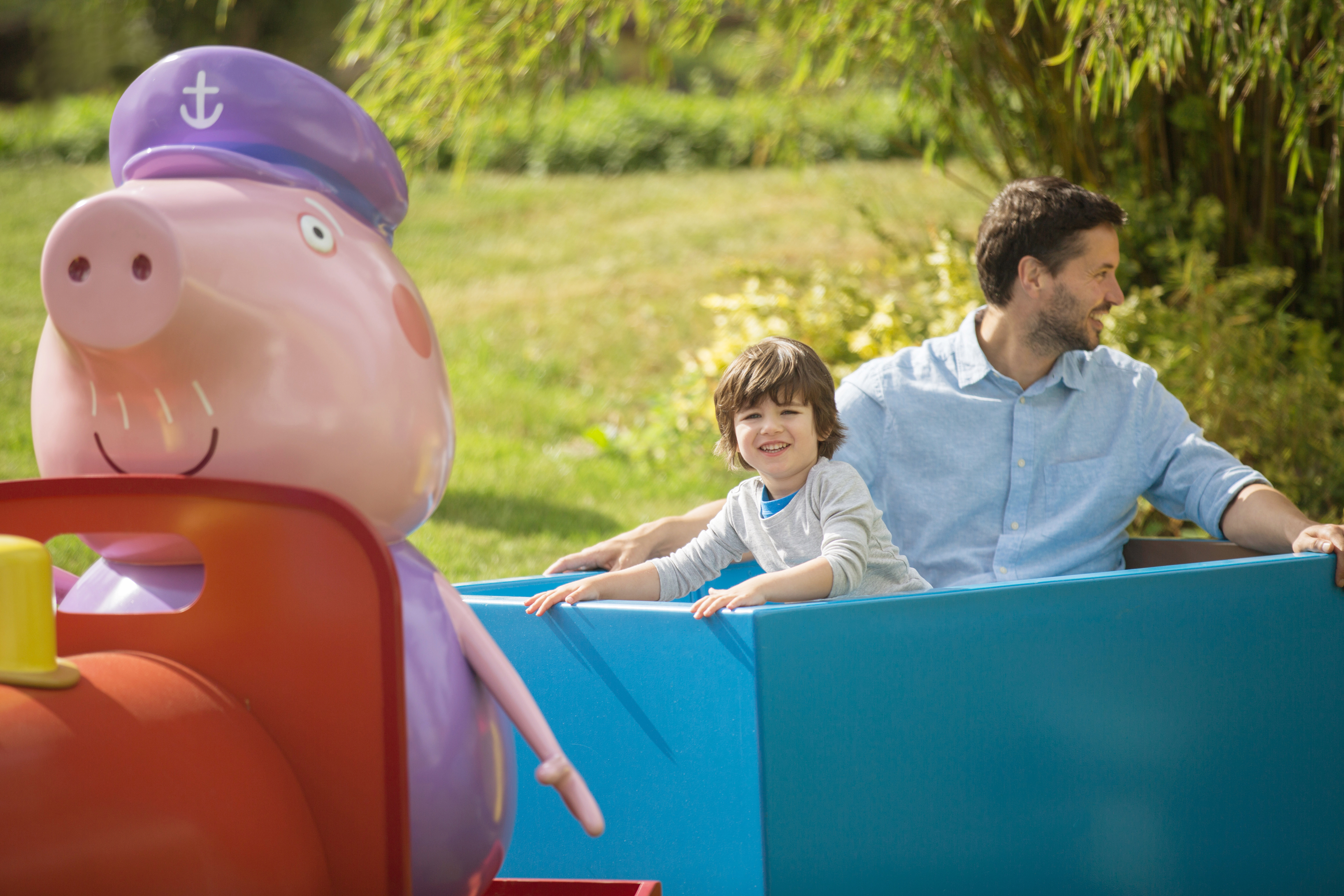 Peppa Pig im Heide Park Resort