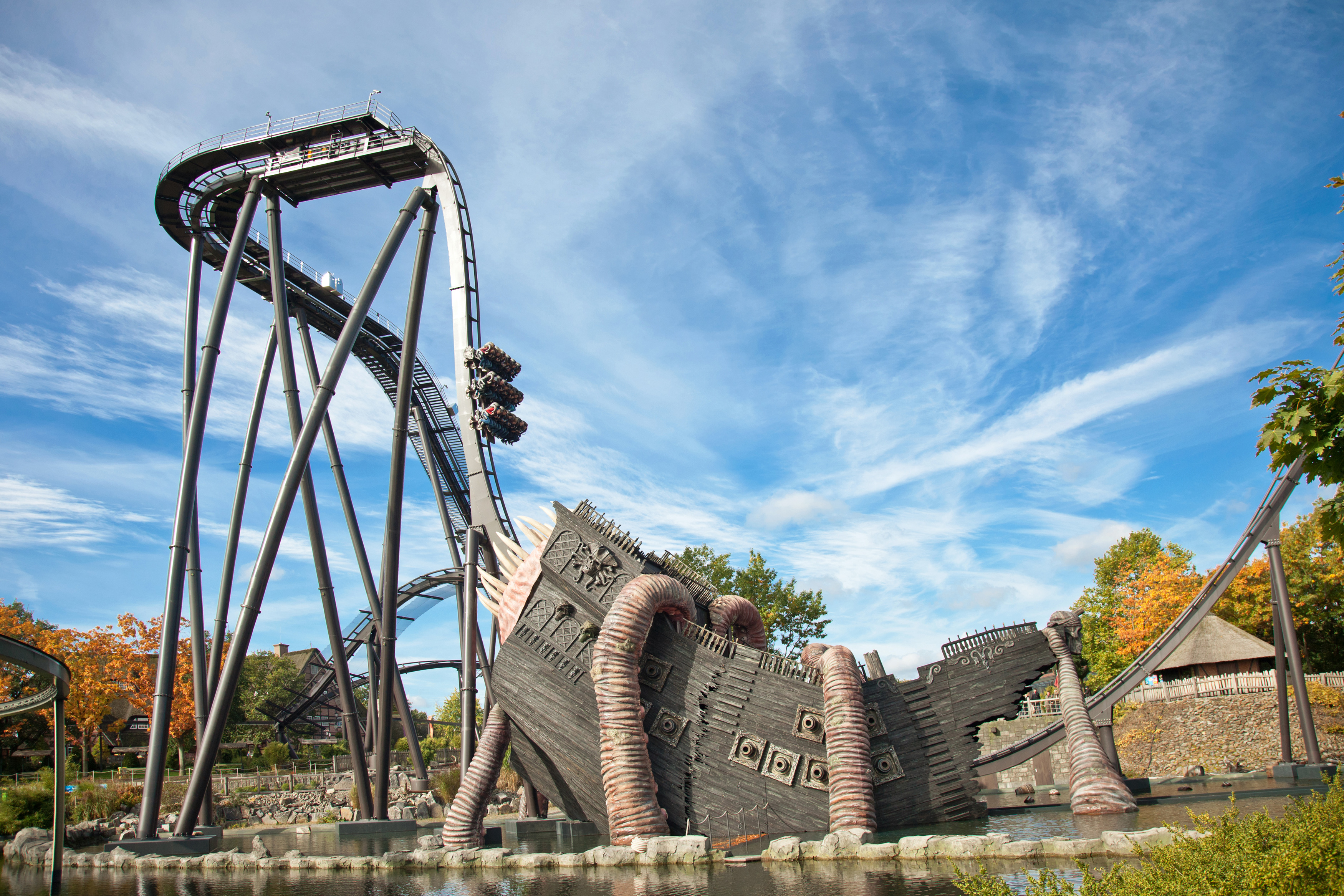 Heide Park Resort Attraktion KRAKE 1