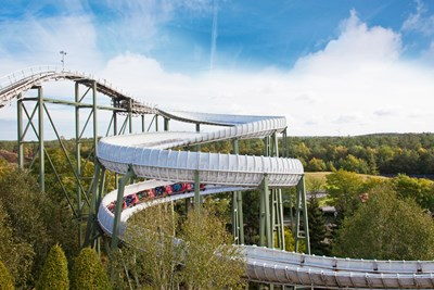 Heide Park Resort Attraktion Bobbahn